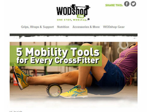 Email Campaign – WODshop