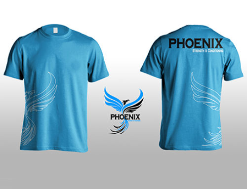 Apparel Design for Phoenix Strength and Conditioning
